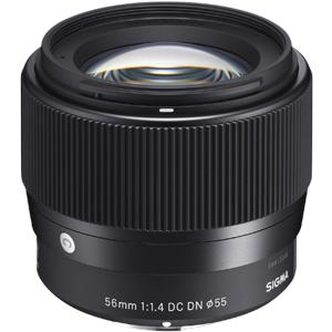 Sigma 56mm f/1.4 DC DN Contemporary Lens (Sony E)
