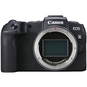 Canon EOS RP Mirrorless Digital Camera and RF Adapter