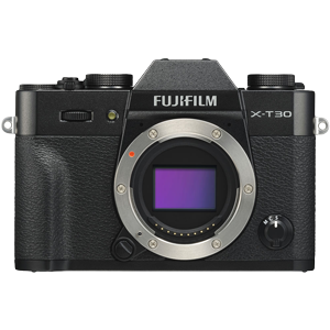 Fujifilm X-T30 Mirrorless Camera Body (Black)