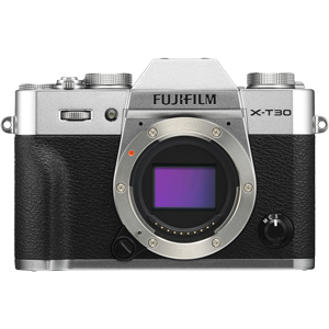 Fujifilm X-T30 Mirrorless Camera Body (Silver)