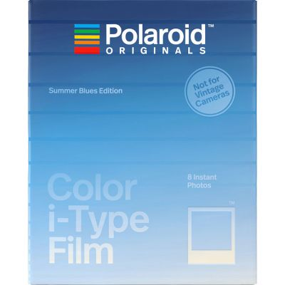 Polaroid Originals Color i-Type Instant Film (Summer Blues Edition)