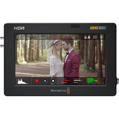 "Blackmagic Design Video Assist 7"" 12G-SDI/HDMI HDR Recording Monitor"