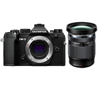 Olympus OM-D E-M5 Mark III Mirrorless Digital Camera with 12-200mm Lens (Black) (Online Only. ETA 3-5 Days)