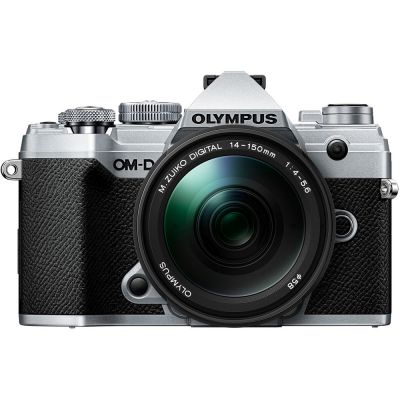Olympus OM-D E-M5 Mark III Mirrorless Digital Camera with 14-150mm Lens (Silver) (Online Only. ETA 3-5 Days)