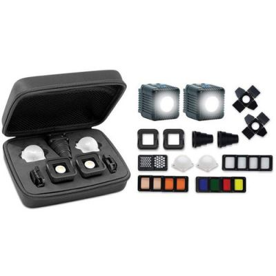 Lume Cube 2.0 Professional LED Lighting Kit for Camera Video & Photography