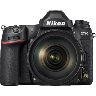 Nikon D780 DSLR Camera with AF-S NIKKOR 24-120mm f/4G ED VR Lens