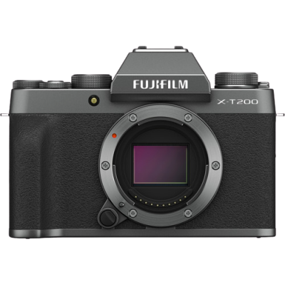 Fujifilm X-T200 Mirrorless Camera Body (Dark Silver)