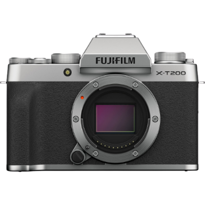 Fujifilm X-T200 Mirrorless Camera Body (Silver)