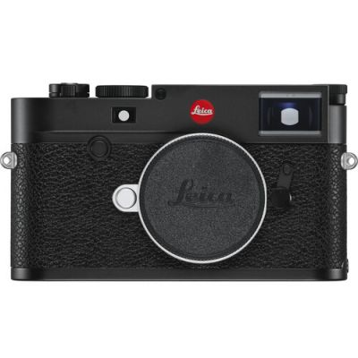 Leica M10-R Digital Rangefinder Camera (Black Chrome)