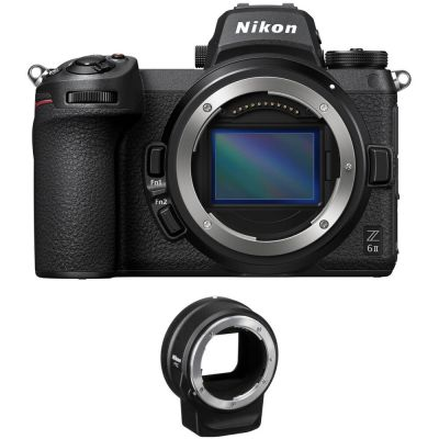 Nikon Z 6II Mirrorless Digital Camera Body with FTZ Adapter