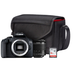 Canon EOS 2000D DSLR Priceless Moments Starter Bundle
