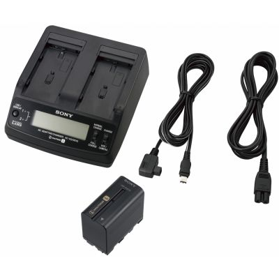 Sony ACCL1BP Fast Dual Charger, AC Adaptor and NP-F970 Battery Kit