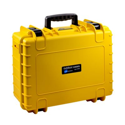 B&W International Type 5000 Outdoor Hard Case with Foam Inserts (Yellow)