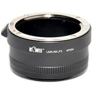 Kiwi Fotos Camera Mount Adapter for Nikon F to Fuji X