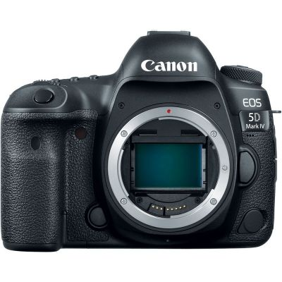 USED Canon EOS 5D Mark IV DSLR Camera Body with Canon BG-E20 Grip - Rating 7/10 (S32014)