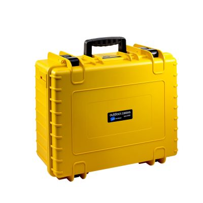 B&W International Type 6000 Outdoor Hard Case with Foam Inserts (Yellow)