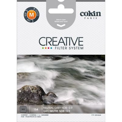 Cokin P154 Neutral Grey ND8 Neutral Density Filter