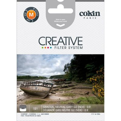 Cokin P121 Graduated Grey G2 Neutral Density Filter (ND8)