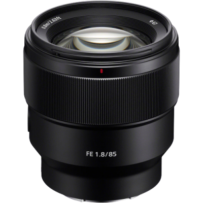 Sony FE 85mm f/1.8 Lens (E Mount)