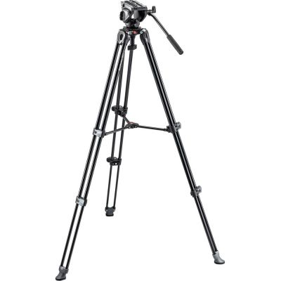 Rental: Manfrotto MVH500A Head & MVT502AM Legs Video Tripod Kit