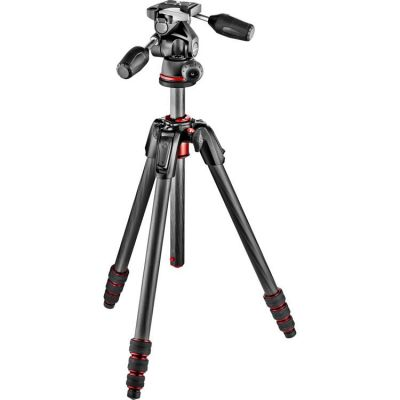 Rental: Manfrotto 190 Legs with 3- way Ball Head Tripod (Medium)