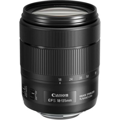 USED Canon EF-S 18-135mm f/3.5-5.6 IS Nano USM Lens - Rating 7/10 (S30936)