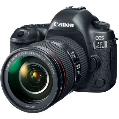 Rental: Canon EOS 5D Mark IV DSLR with 24-105mm f/4L IS USM II Lens