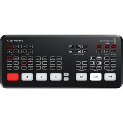Rental: Blackmagic Design ATEM Mini Pro HDMI Live Stream Switcher