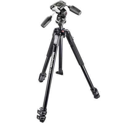 Rental: Manfrotto MK190X3-3W Aluminium 3-Section Tripod with 3-way head
