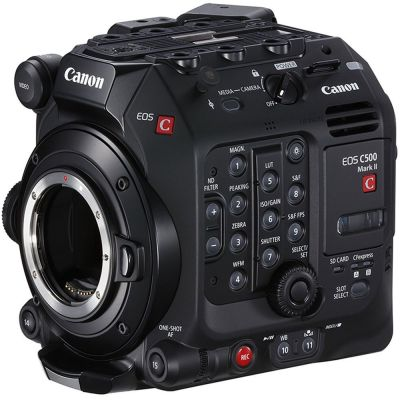 USED Canon EOS C500 Mark II Cinema Camera (EF Mount) - Rating 8/10 (S30752)