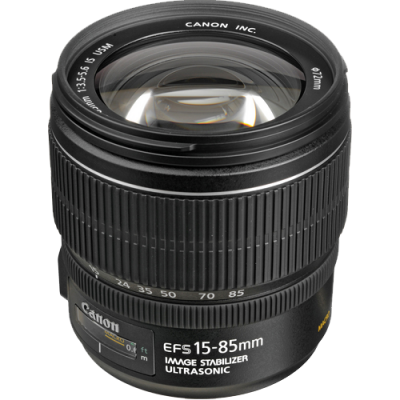 USED Canon EF-S 15-85mm f/3.5-5.6 IS USM Lens - Rating 7/10 (S30285)