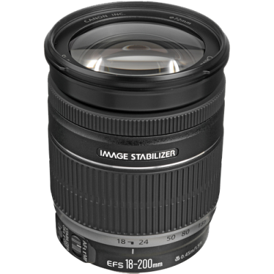 USED Canon EF-S 18-200mm f/3.5-5.6 IS Lens - Rating 7/10 (S30790)