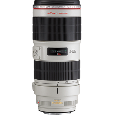 Rental: Canon EF 70-200mm f/2.8 L IS II USM Lens