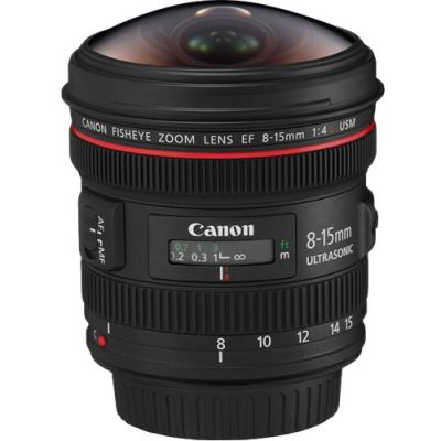 Rental: Canon EF 8-15mm f/4 L USM Fisheye Lens