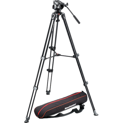 Rental: Manfrotto MVT502AM Tripod with MVH500A Head (Large Video)