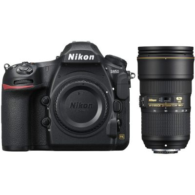 Rental: Nikon D850 DSLR Camera with 24-70mm f/2.8 Lens
