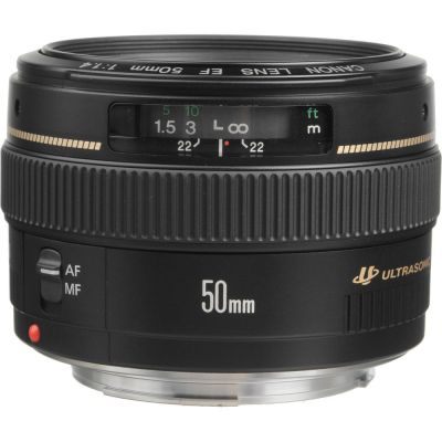 Rental: Canon EF 50mm f/1.4 USM Lens