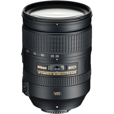 USED Nikon AF-S 28-300mm f/3.5-5.6 G ED VR Lens - Rating 7/10 (S31230)