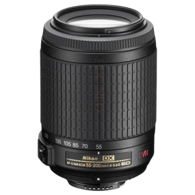 USED Nikon AF-S 55-200mm f/4-5.6 G IF-ED DX VR Lens - Rating 8/10 (S31233)