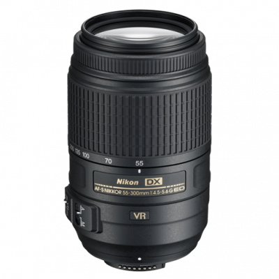 USED Nikon AF-S 55-300mm f/4.5-5.6 G ED DX VR Lens - Rating 7/10 (S20342)