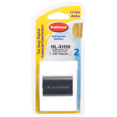 Hahnel HL-XH50 Lithium Ion Battery for Sony (NP-FH50)