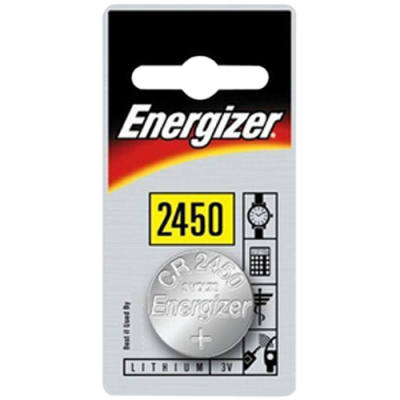Energizer CR2450 3v Lithium Coin Battery Card 1