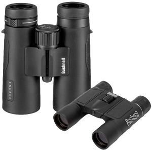 Bushnell Engage X 10x42 Binoculars & 10x25 PowerView Binoculars Combo
