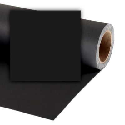 Colorama 3.55 x 30m Background Paper (Black)