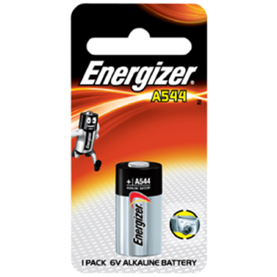 Energizer A544 6v Alkaline Battery Card 1