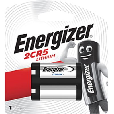 Energizer 2CR5 6v Photo Lithium Battery Card 1
