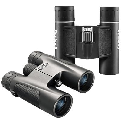 Bushnell Powerview Binocular Dual Combo (Bushnell 10x42 Powerview & 10x25 Powerview Binoculars)