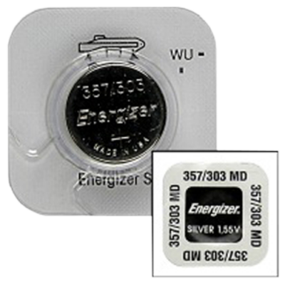 Energizer 357/303 Silver Oxide Watch Battery