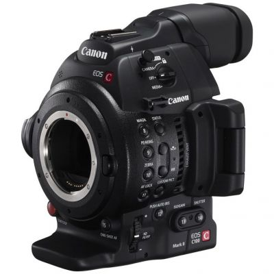 USED Canon EOS C100 Mark II Cinema Camera (EF-Mount) - Rating 8/10 (S31140)