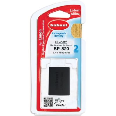 Hahnel HL-C820 Lithium Ion Battery for Canon (BP-820)
